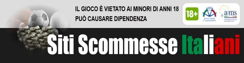 Bookmakers con licenza AAMS